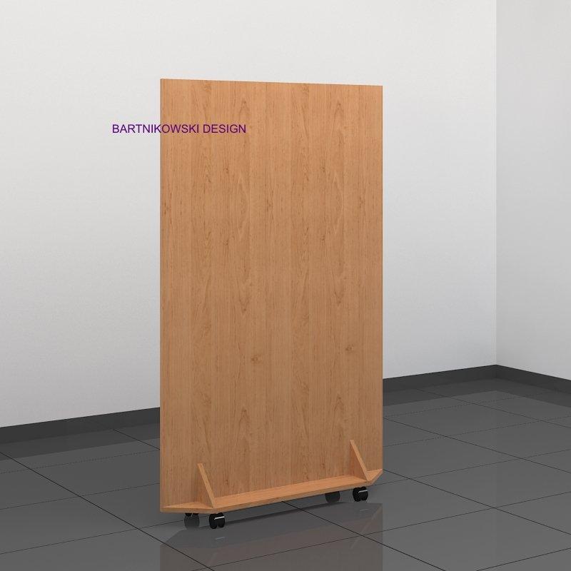 Ścianki działowe mobilne